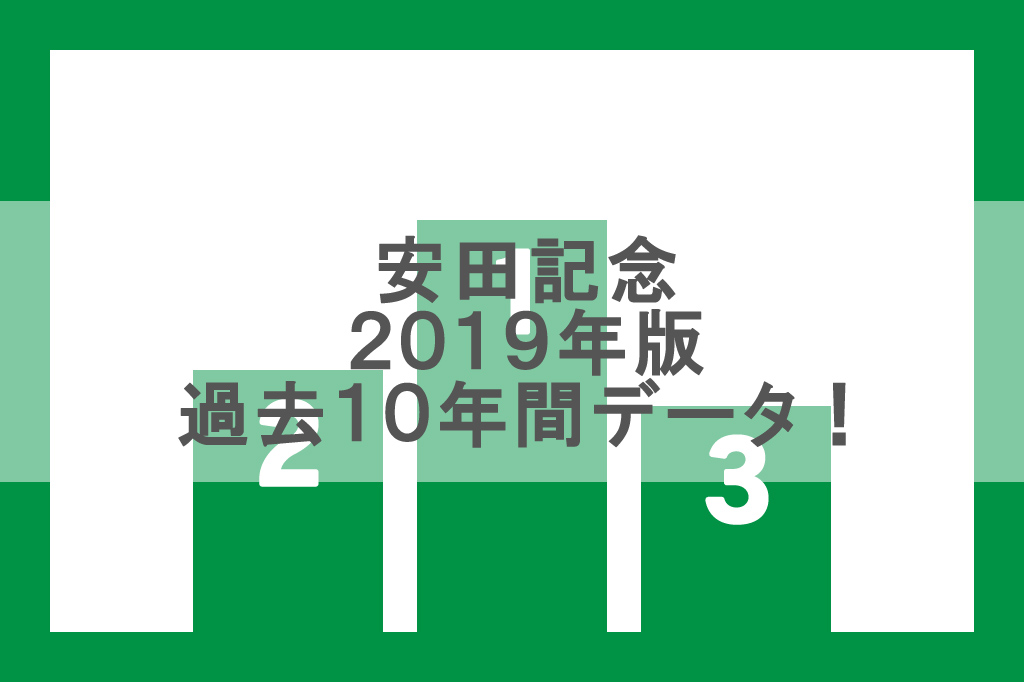 【安田記念 2019】過去10年間